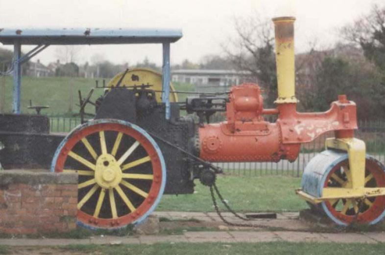 8 ton Aveling roller