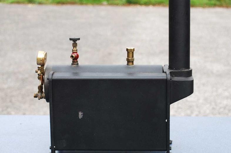 Testing small boilers