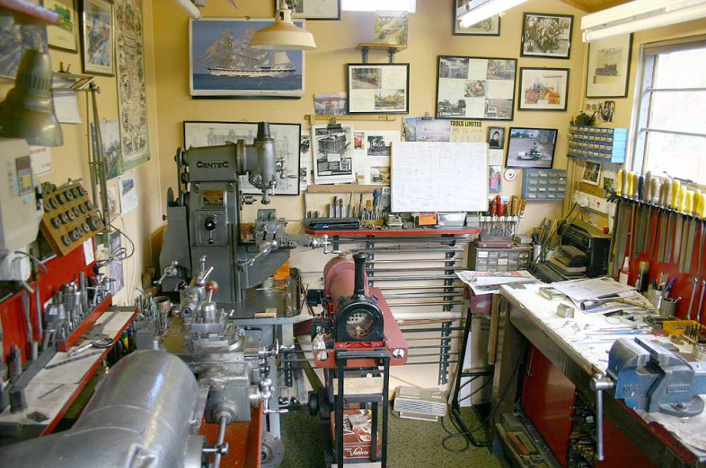 A workshop in Herefordshire