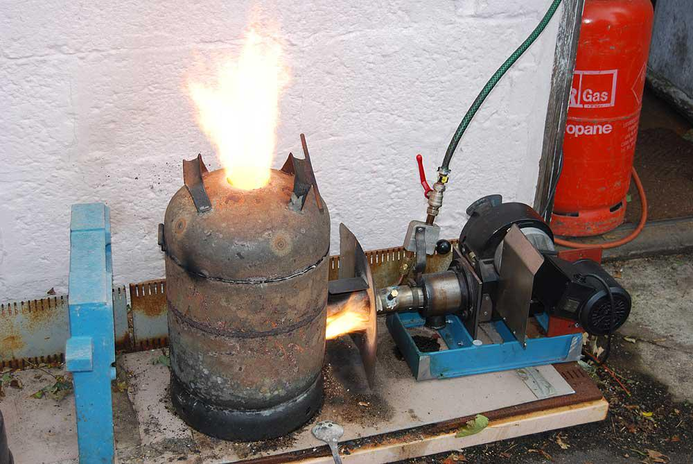 A backyard foundry