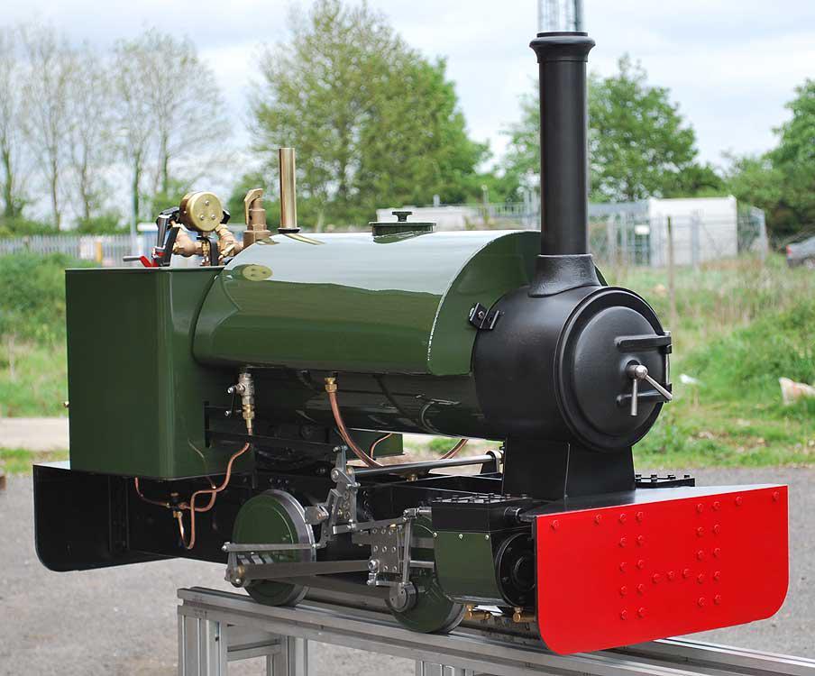 Stafford running at Evergreens Miniature Railway