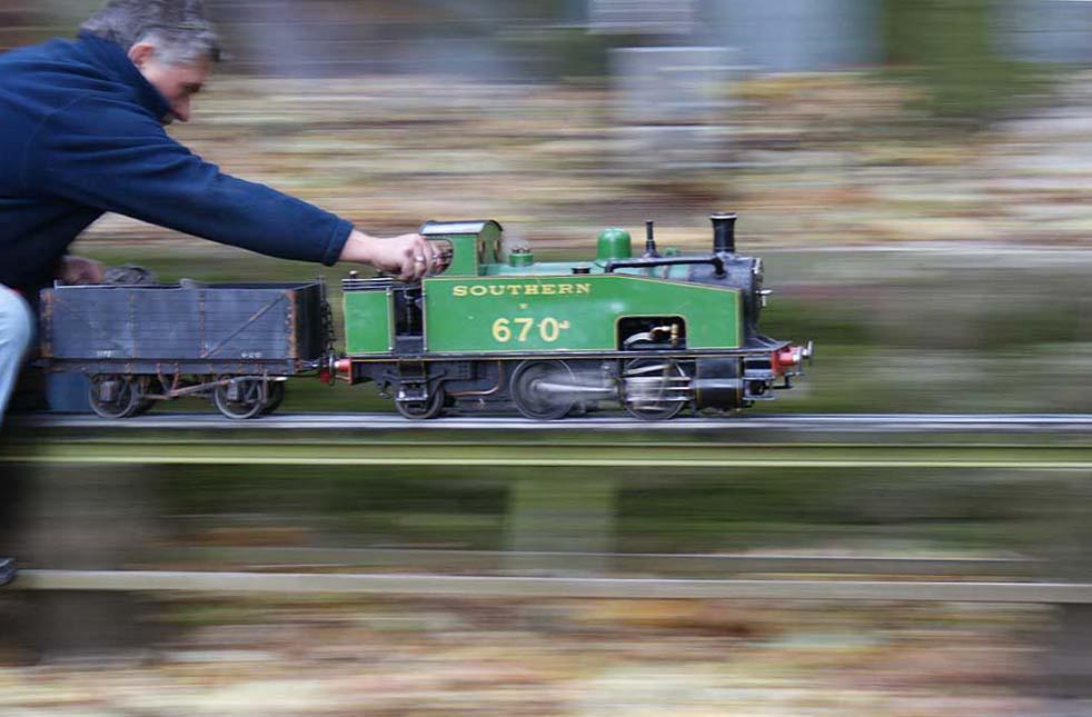 Howard at speed