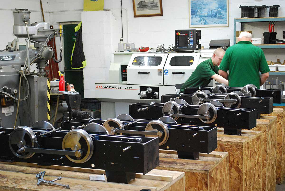 Assembling seven Staffords
