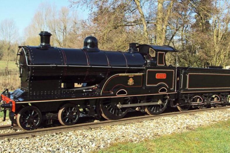 Another large engine arrives - LNWR