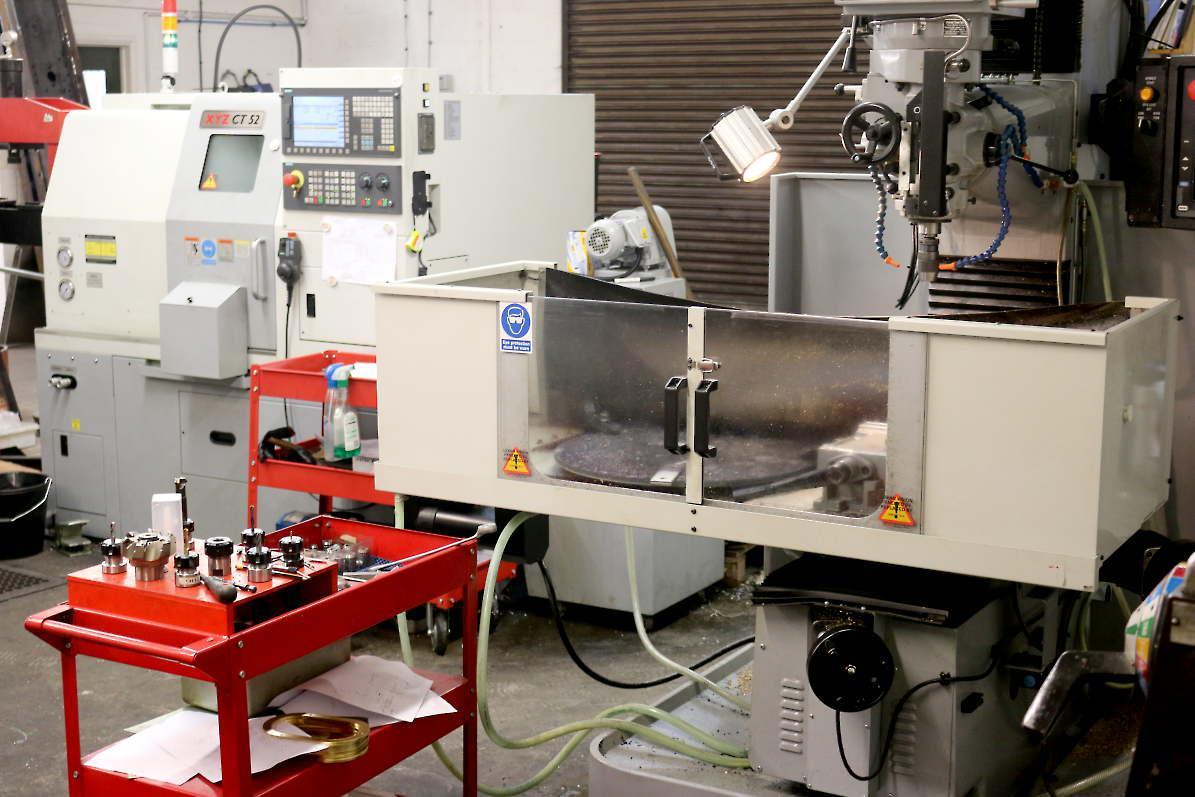 Two new CNC machines arrive