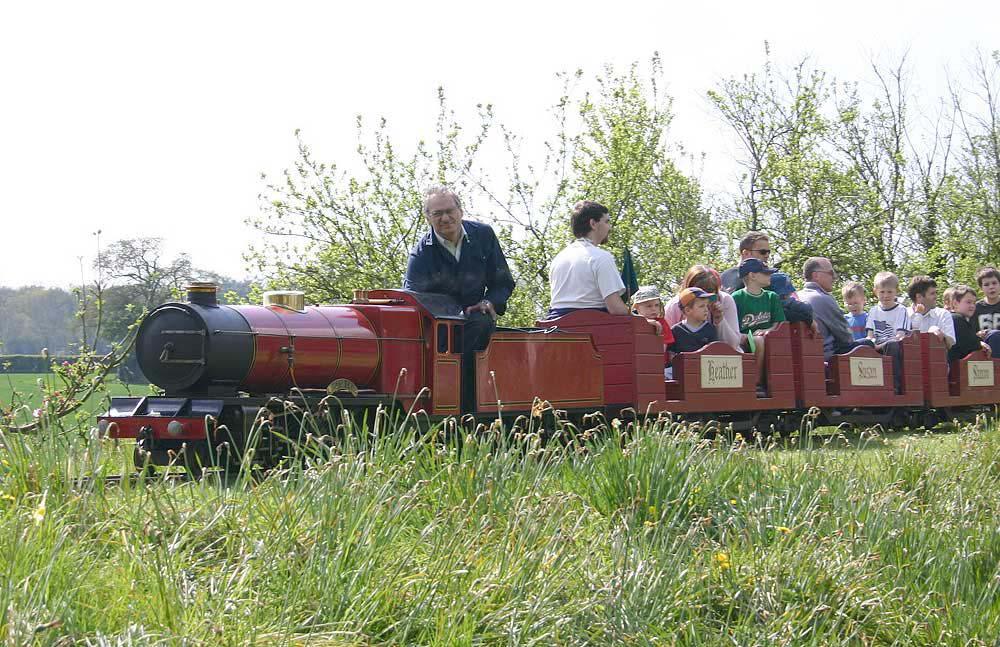 9 1/2 inch gauge railway in Berkshire