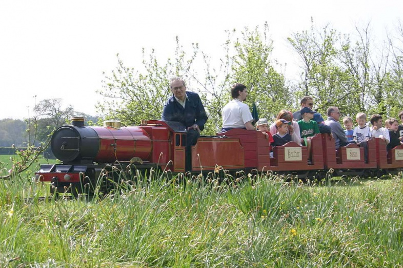 9 1/2 inch gauge railway in Berkshire