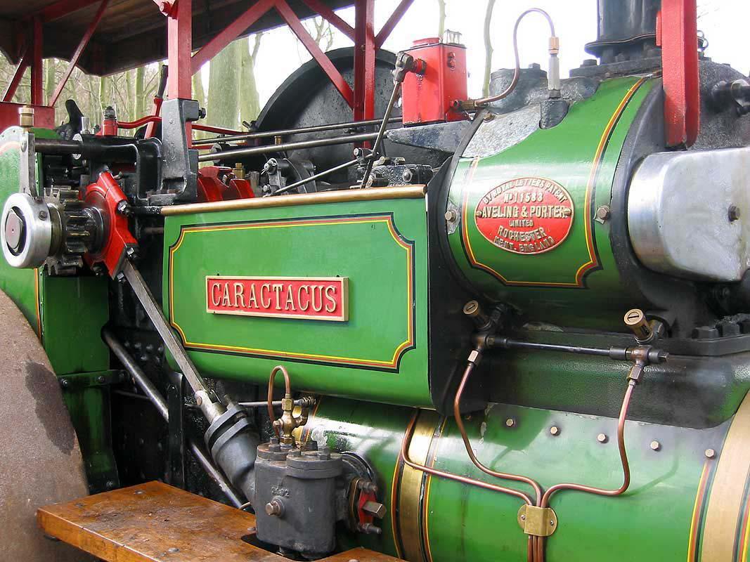 1926 Aveling & Porter steam roller