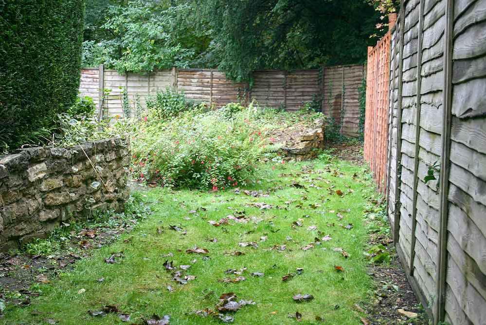 Garden Railway - the first survey