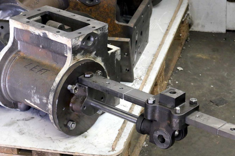 Bagnall cylinder trial assembly