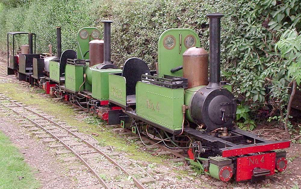Eric Walker & The Kirton Light Railway