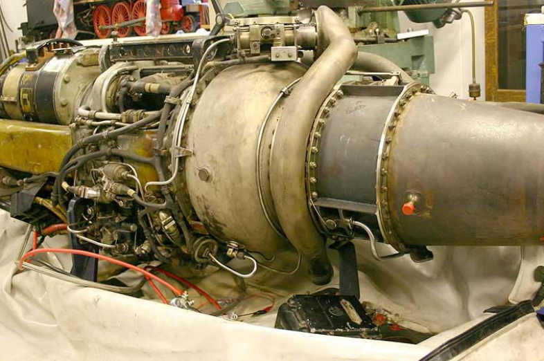 Rolls Royce Artouste gas turbine