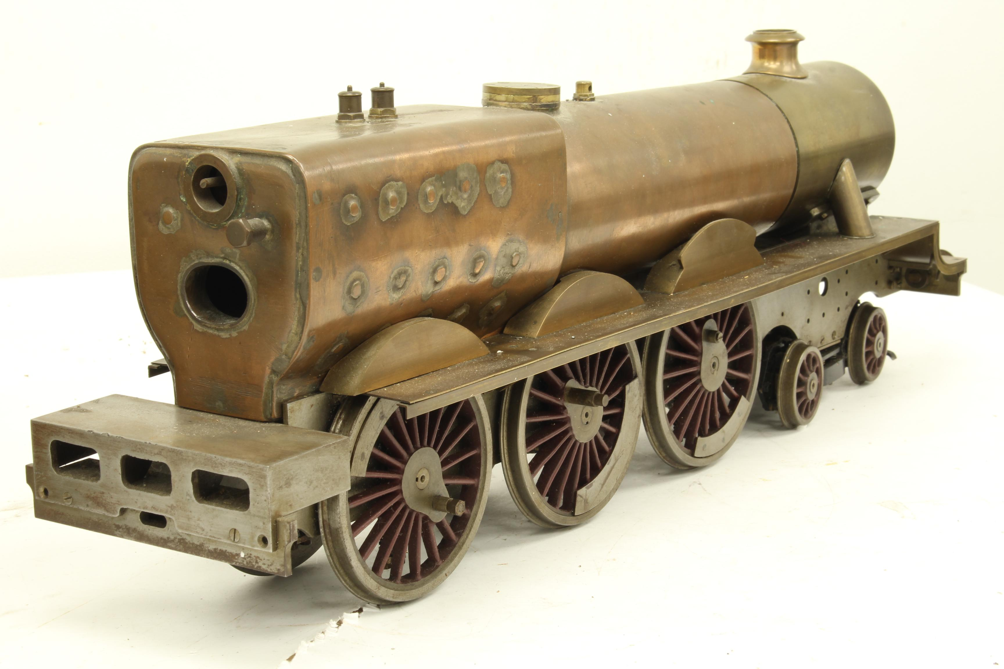 "Part-built 2 1/2 inch gauge LNER ""Olympiade"""