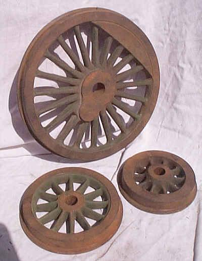 7 1/4 gauge wheels