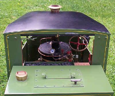 2 inch scale Clayton steam wagon