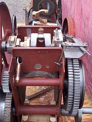 3 inch part-built Burrell agricultural engine