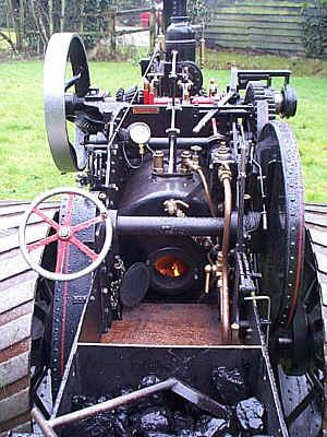 Fowler K5 ploughing engine