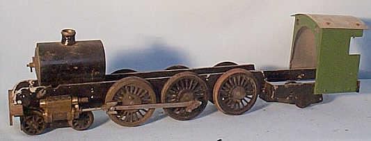 Gauge 1 4-6-2 chassis, cylinders, cab