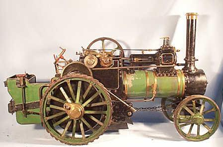 1 1/2 inch scale Aveling & Porter traction engine