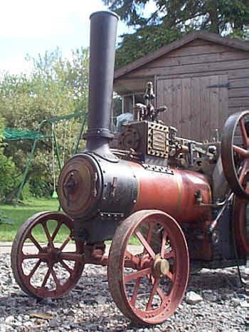 3 inch scale Burrell traction engine
