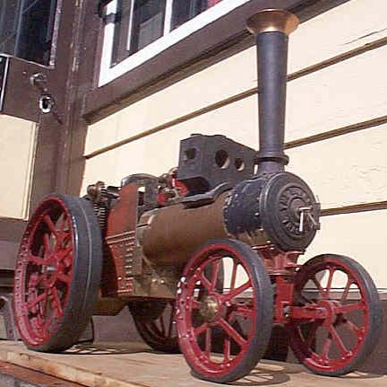 Part-built 2 inch scale Burrell Gold Medal tractor