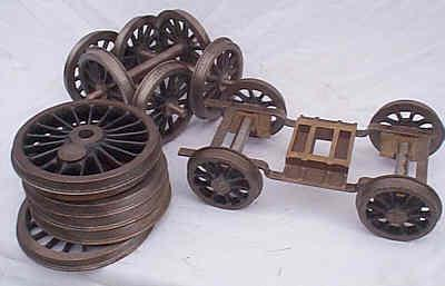 5 inch gauge Torquay Manor chassis