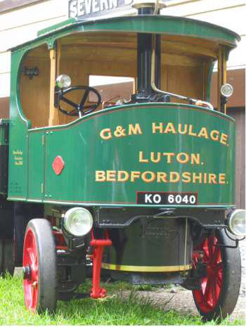 3 inch scale Atkinson steam wagon
