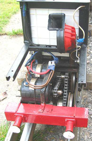 5 inch diesel with electric motors and 4QD drive board