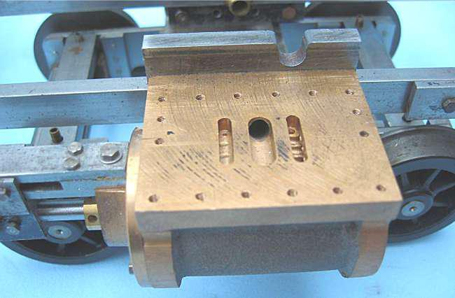 3 1/2 inch gauge part-built