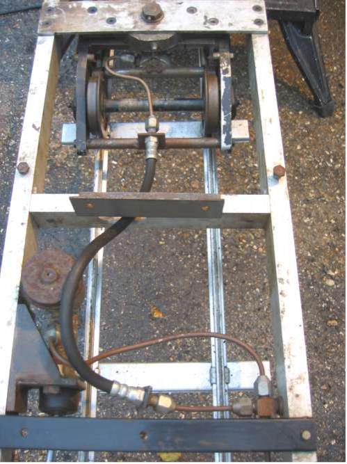5 inch gauge hydraulic braked driving trolley