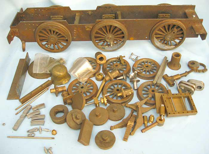 Part-built 3 1/2 inch gauge 4F