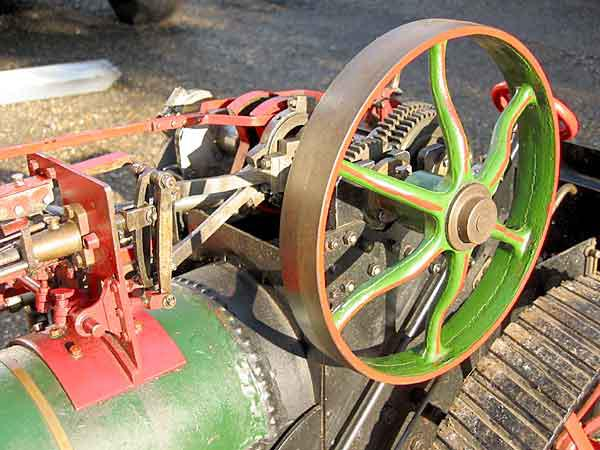 Machinery for model steamers