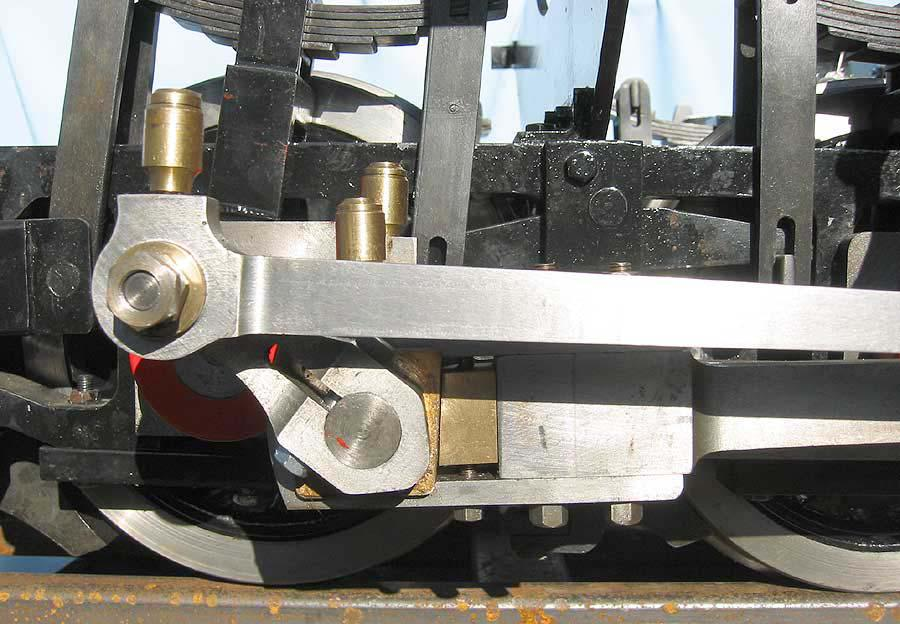 7 1/4 inch gauge Mountaineer chassis