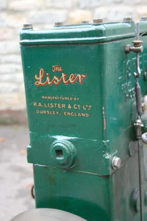 Lister D on trolley