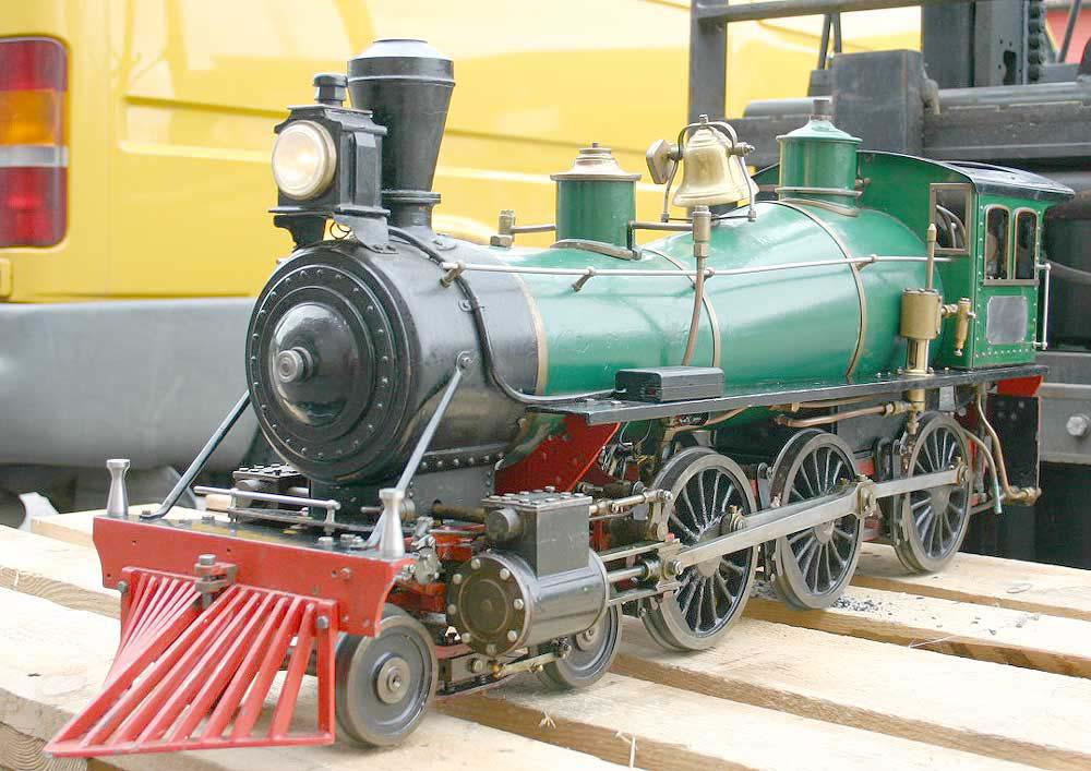5 inch gauge American 4-6-0, missing tender