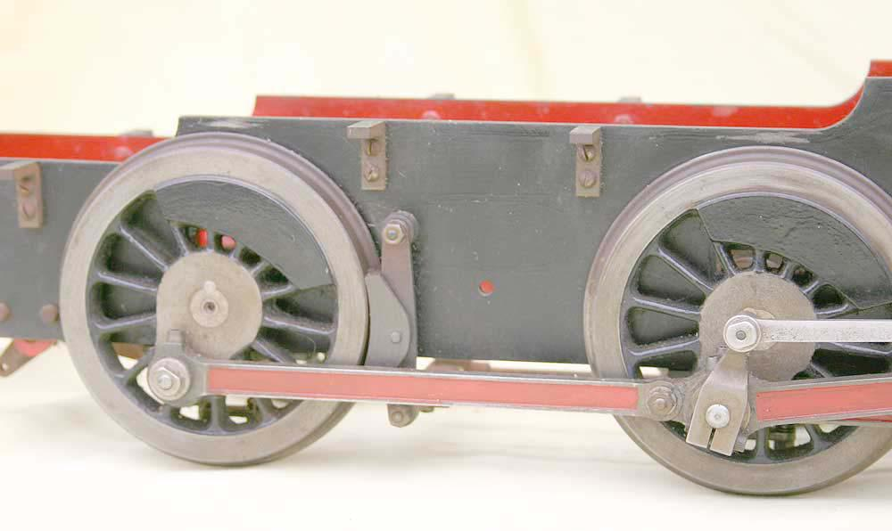 3 1/2 inch gauge Bassett-Lowke chassis and drawings