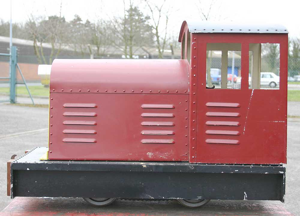 7 1/4 inch gauge battery shunter
