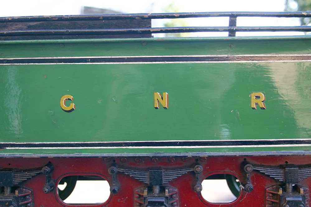 3 1/2 inch gauge GNR Atlantic