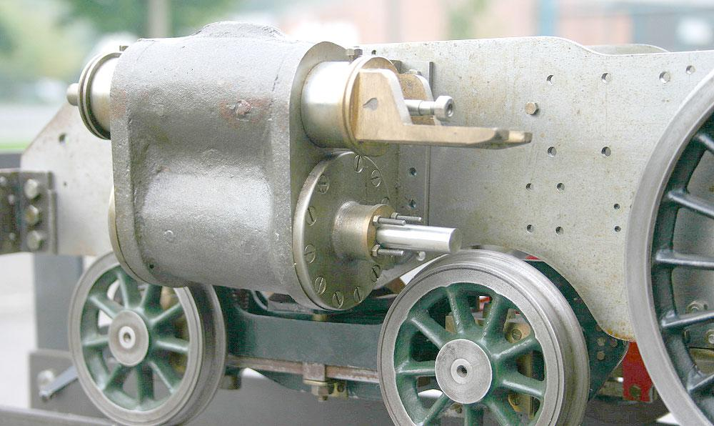 5 inch gauge part-built Britannia