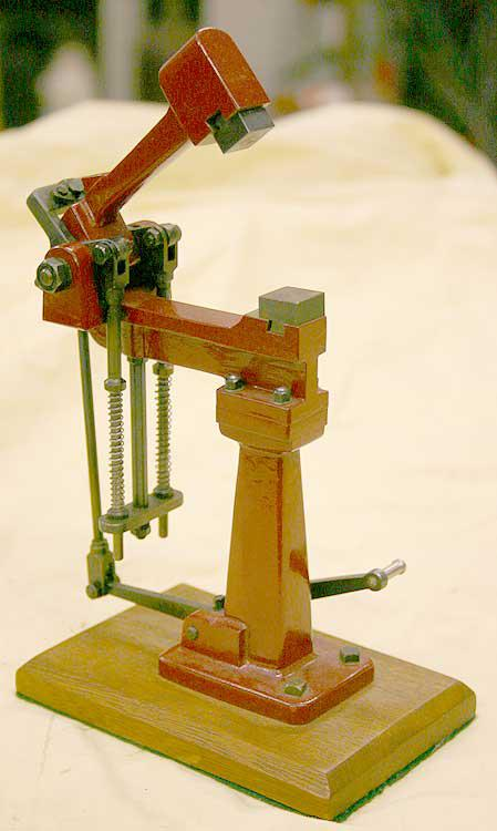 Model foot operated hammer - Stock code 2953