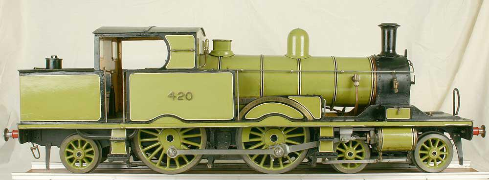 5 inch gauge LSWR Radial tank