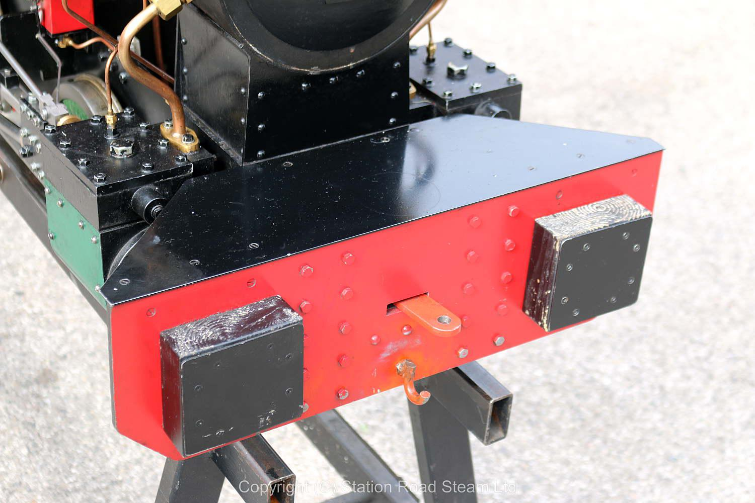 7 1/4 inch gauge Sweet William 0-4-0