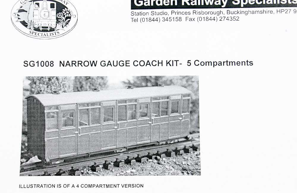 Pair L&B 45mm gauge coach kits