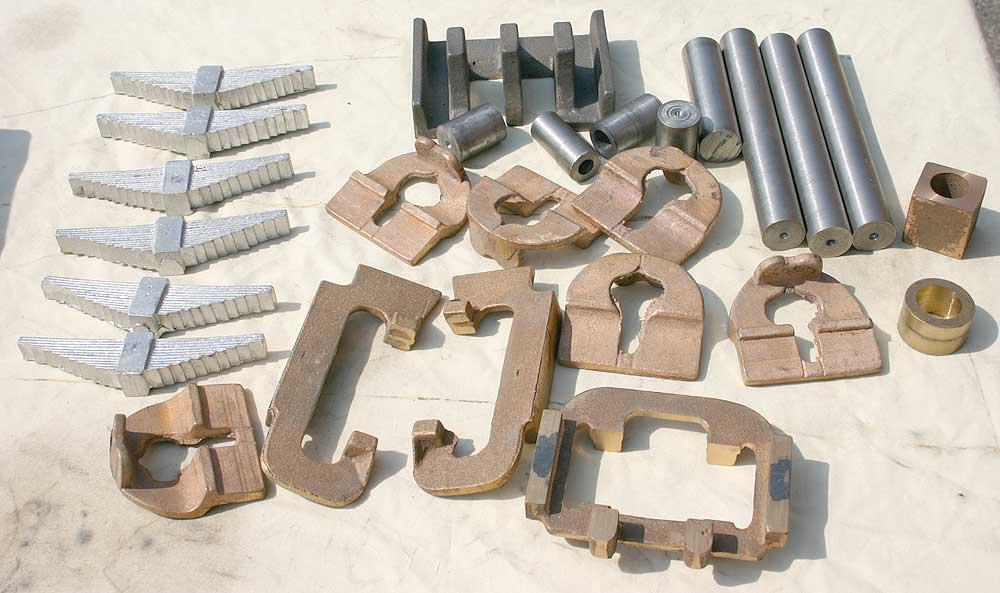 5 inch gauge GWR King castings