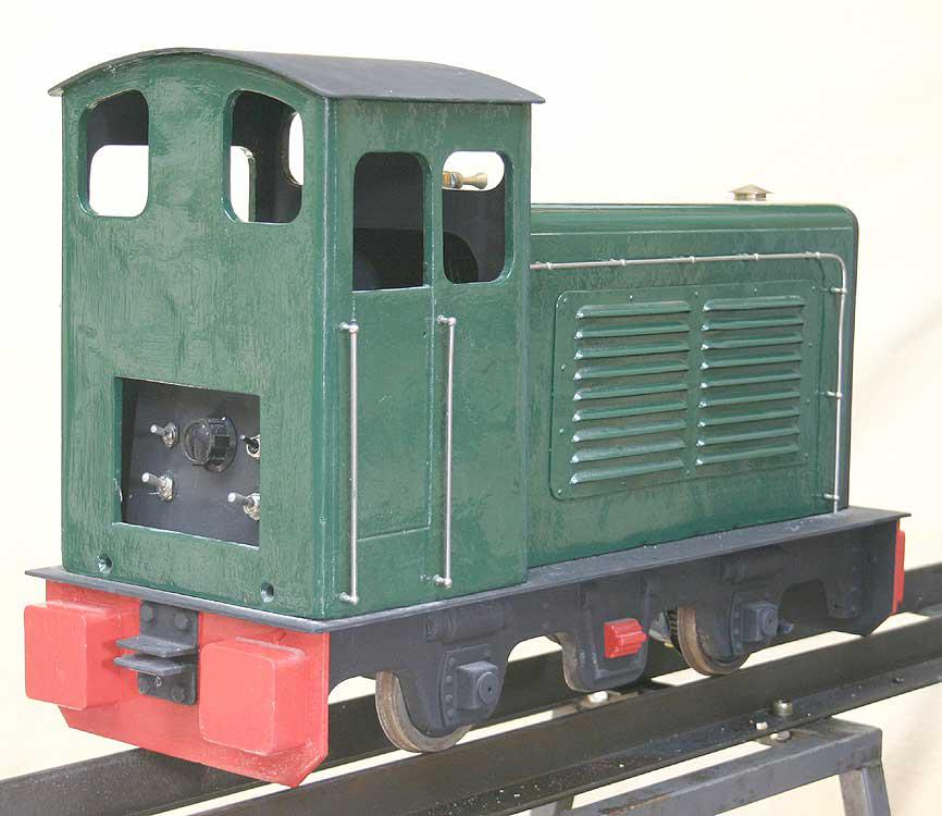 5 inch gauge battery electric shunter