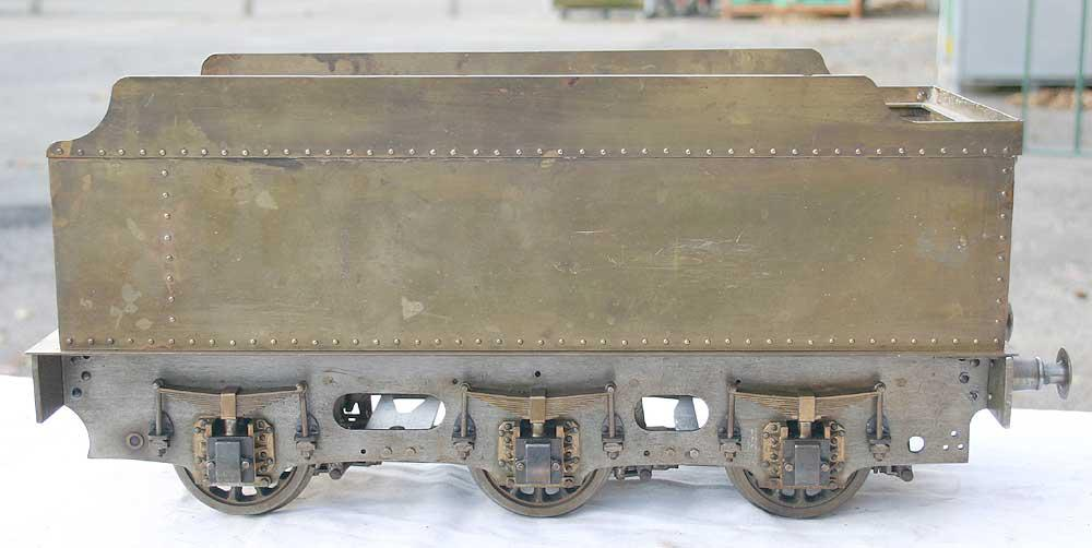 3 1/2 inch gauge LNER 2-6-0 part-built