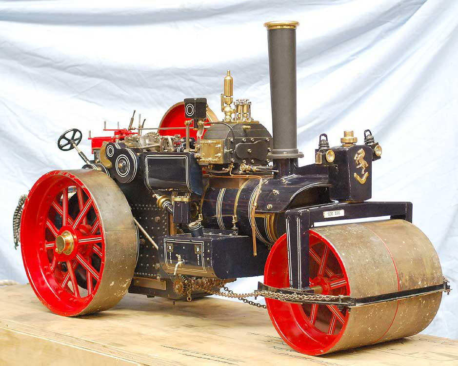2 inch scale Aveling & Porter steam roller