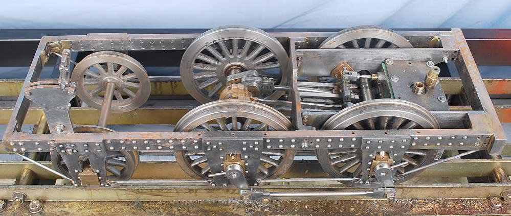 5 inch gauge part-built