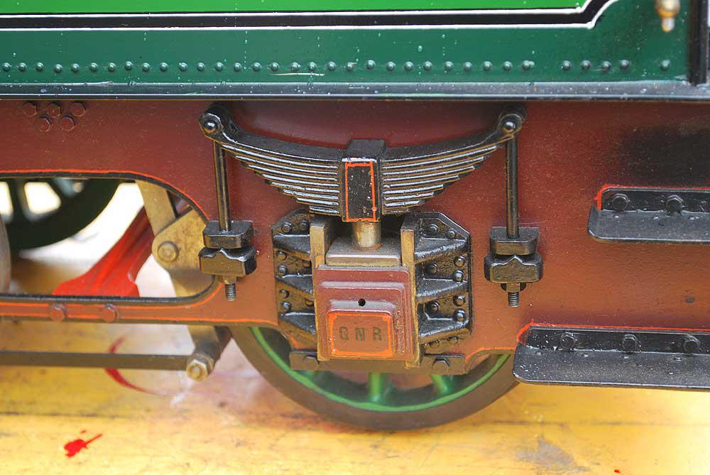 5 inch gauge Stirling Single