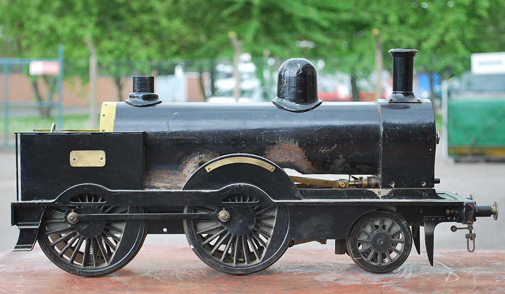 3 1/2 inch gauge Precedent chassis, tender, boiler cladding